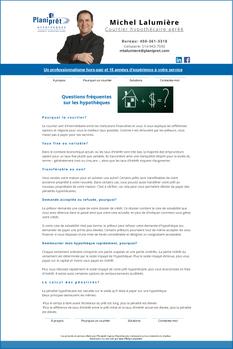 Élaboration de site web par CréationConcept