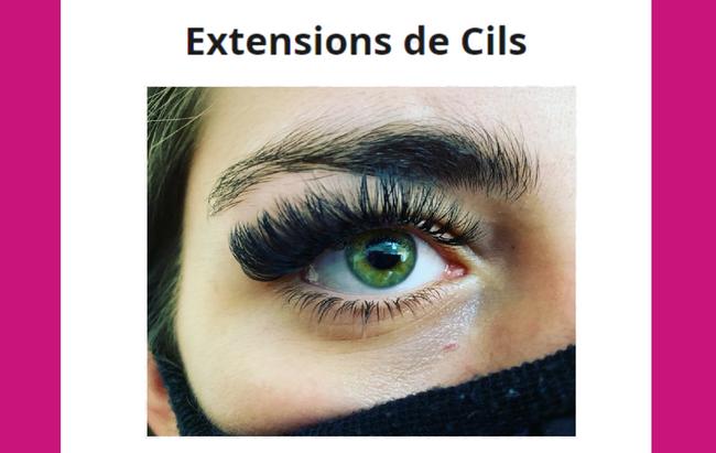Extensions de Cils