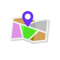 logotipo mapa