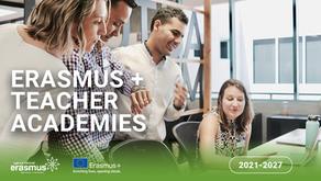 Nova Ação Erasmus+ Teacher Academies