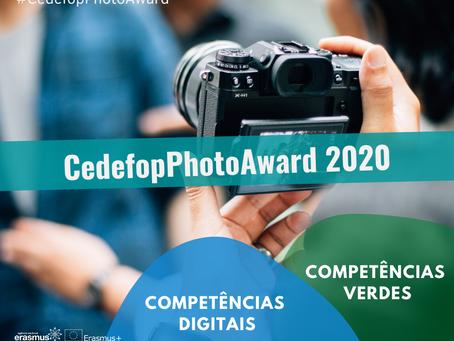 #CedefopPhotoAward 2020 tem novo prazo