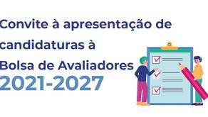 Bolsa Avaliadores 2021-2027