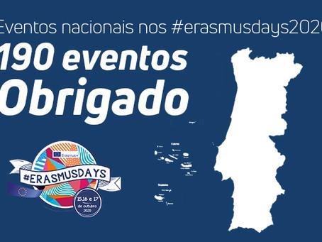 Começaram os #Erasmusdays2020
