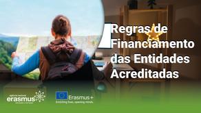 Regras de financiamento das entidades acreditadas