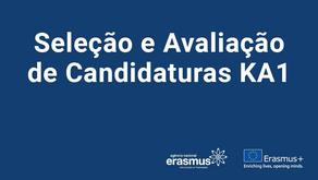 Seleção e Avaliação de Candidaturas KA1