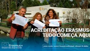 Divulgação Acreditação Erasmus+