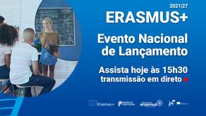 Evento Nacional de Lançamento do Programa Erasmus+ 2021 | 2027
