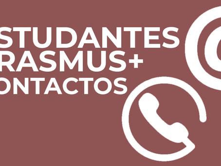 Estudantes em Mobilidade | Contactos