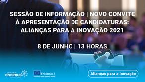Sessão de Informação   Alianças para a Inovação
