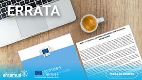 Errata - Guia do Programa em Português