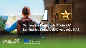 Seminários Digitais | Erasmus+2021