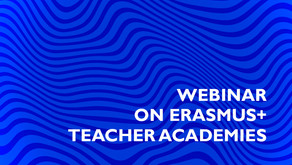 Webinar Erasmus+ Teacher Academies