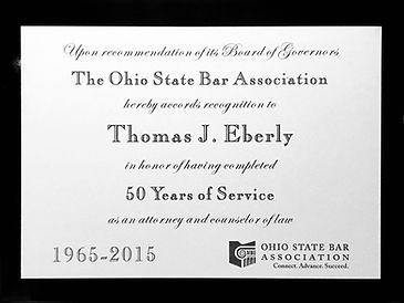 Tiffin Ohio lawyer, Thomas Eberly