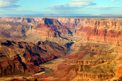 Grand Canyon National Park seen from Desert View