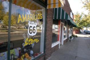 Rt. 66 Street Scene