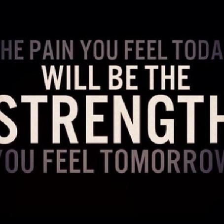Today's Pain = Tomorrow's Pleasure