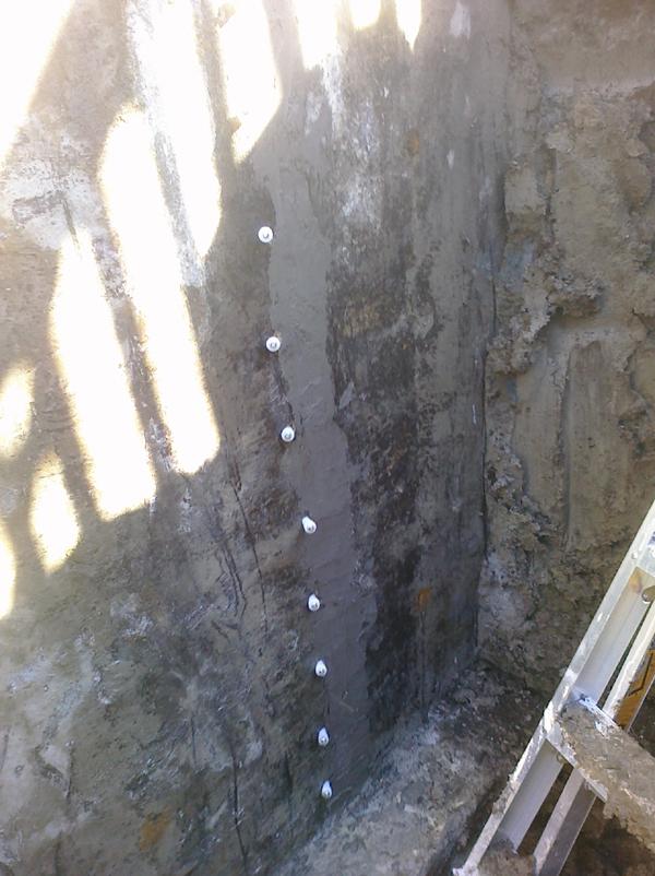 Réparation de fissure de fondation