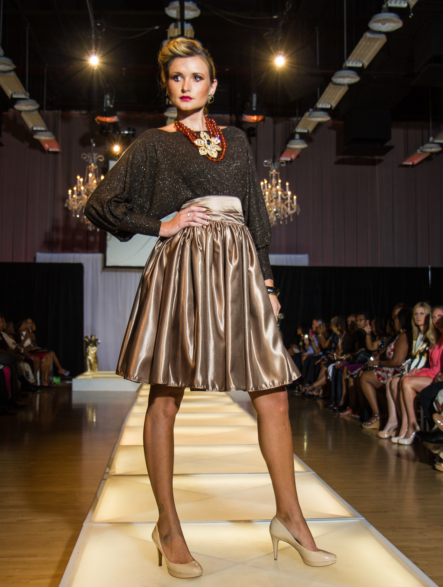 The Bishop Blouse and Skirt