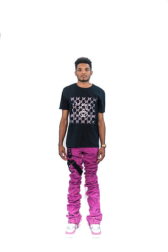 Purple EDM Denim Jeans