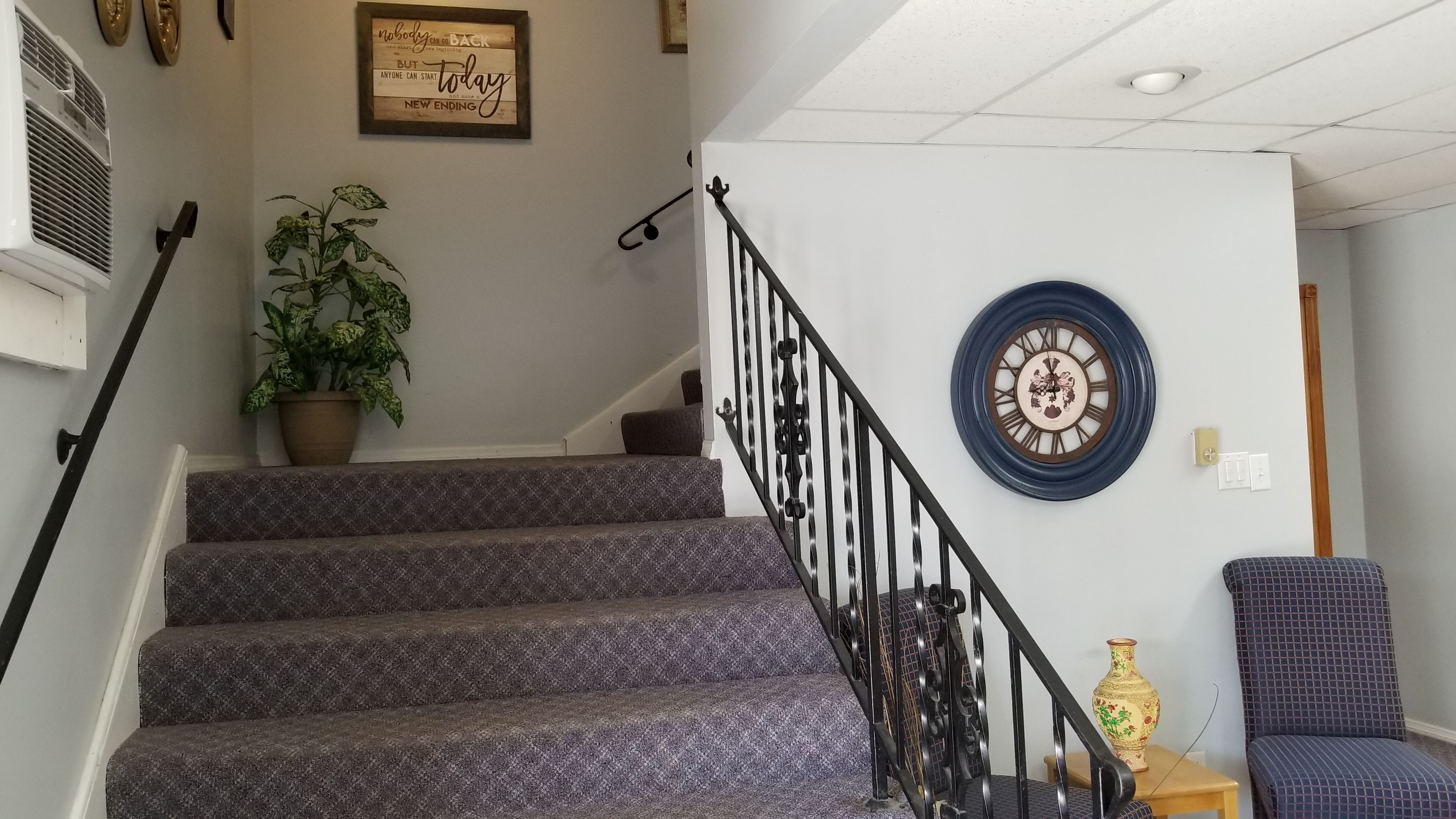 Stairs to Offices