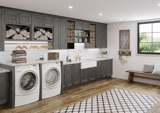 Shaker Laundry Room