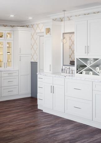 Shaker White Bathroom