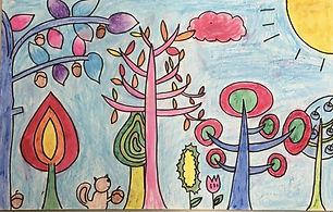 thumbnail_Student art work; forrest.jpg