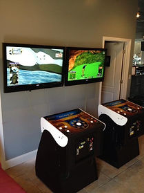 Boardwalk Arcade Game rooms matt gardner Charleston