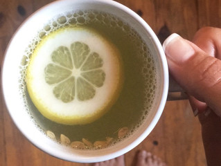 When life gives you lemons, make warm lemon water!