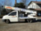 Noleggio di furgoni con autista
