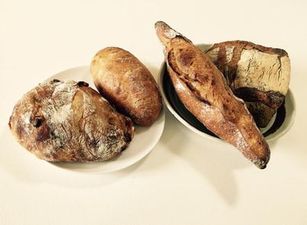 パンはハード系