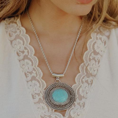 Sunrise Turquoise Necklace