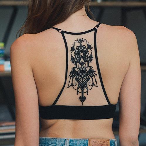 Tattoo Racerback Bralette