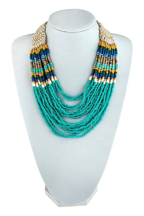 Crochet Bib Necklace