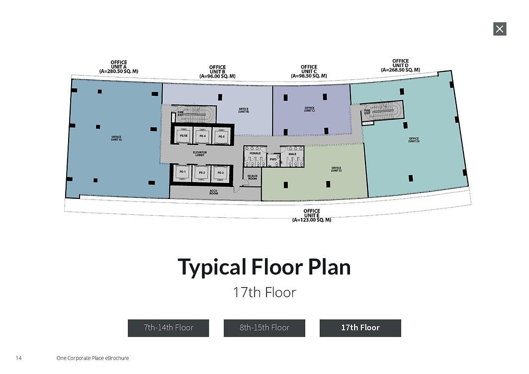 Details of Floor layout