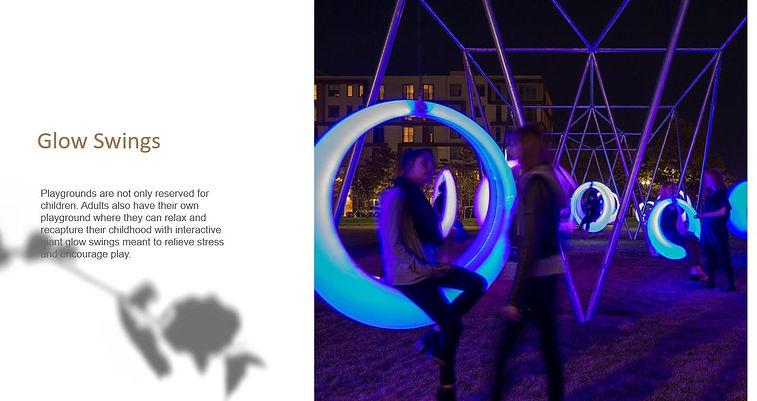 Glow swing