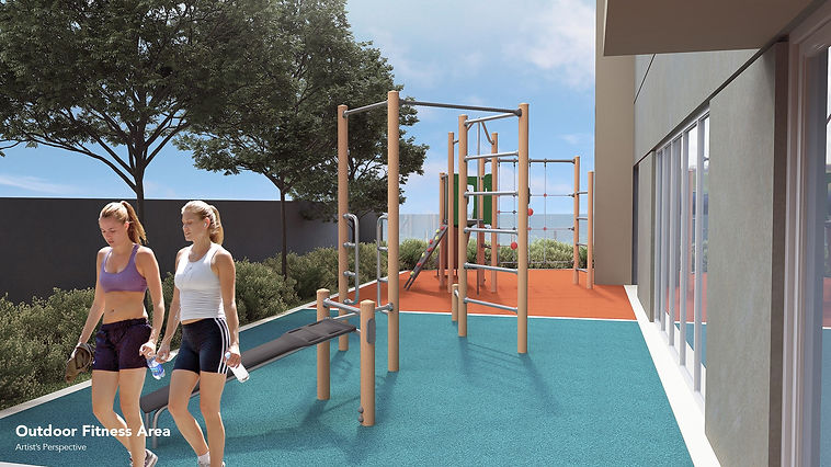 Outdoor Fitness Area