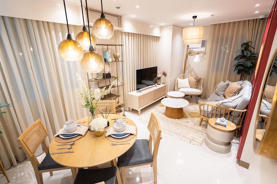 1 Bedroom Unit Living Area