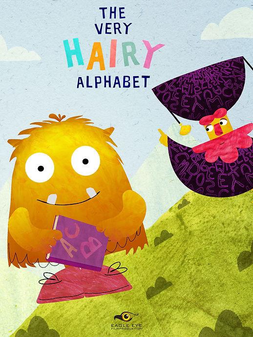 THE VERY HAIRY ALPHABET