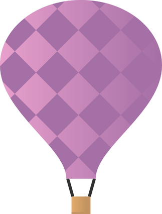 La mongolfiera rosa