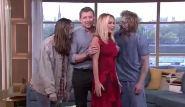 This morning Zombie Scare