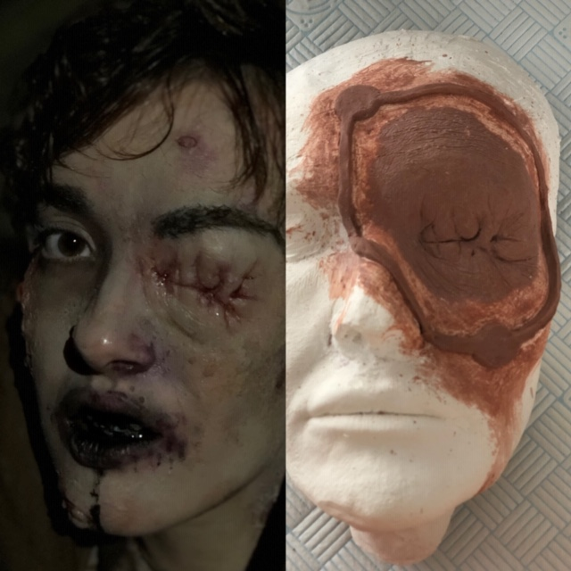Prosthetic Makeup creation