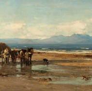 Arran from the Ayrshire Coast (1880s)