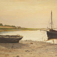 A sunny evening, Lochranza, 1886