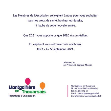 Vœux Montgolfière 2021