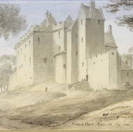 Brodick Castle, 1833