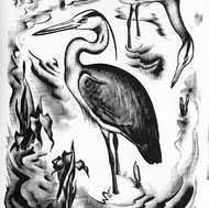Illustration from 'Down the River'