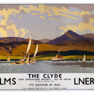 LNER 'The Clyde' poster