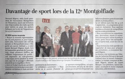 Davantage de sport lors de la 12e Montgolfialde