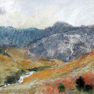 """WILLIAM ARMOUR (British, 1903-1979) """"North Glen Sannox, Arran"""""""